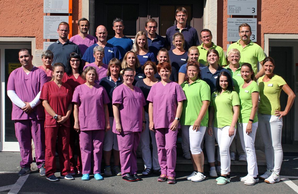 Teamfoto Praxis Dr. Zollmann Jena
